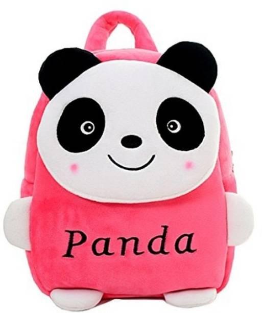 MINITREES Pink Panda Kids School/Nursery/Picnic/Carry/Travelling Bag, 2-12 Years , School Bag Waterproof School Bag