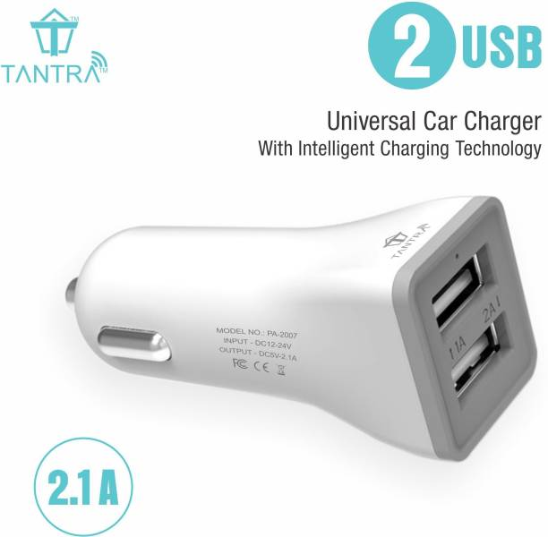 TANTRA 2.1 amp Turbo Car Charger