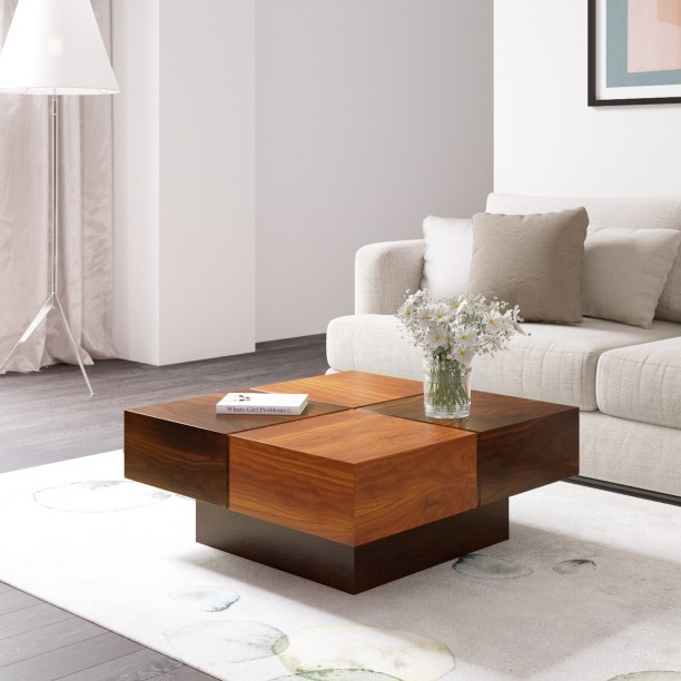 Bon Flipkart Perfect Homes PureWood Sheesham Coffee Table