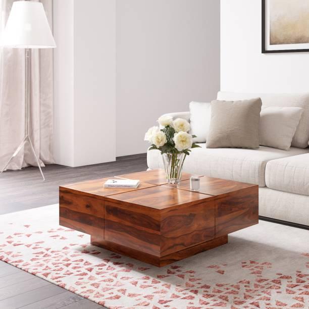 Flipkart Perfect Homes PureWood Sheesham Coffee Table