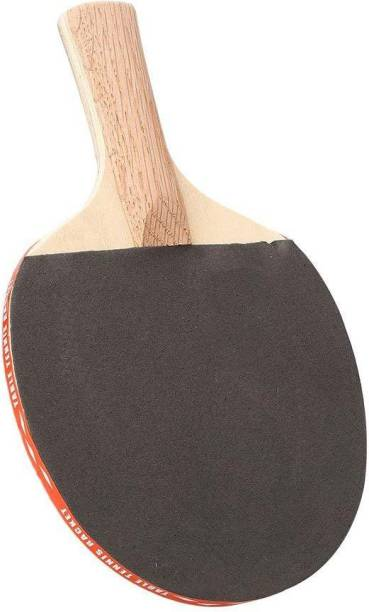 Quinergys Lightweight 5 Layer Wood Table Tennis Bat Paddle Long Handle Shake Hand Grips Racket Sports