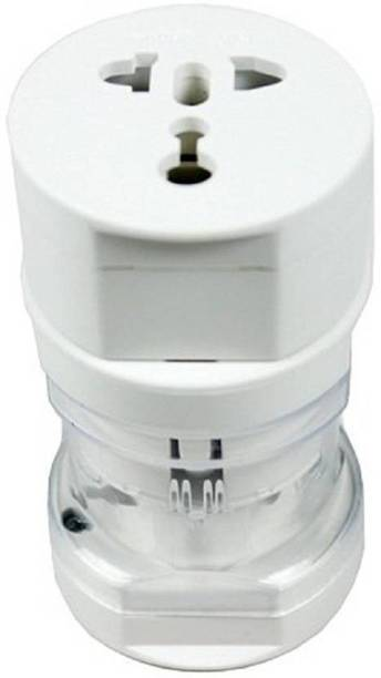 GIZMOSOUL International Travel Adapter All In One (US,AUS,NZ,Europe,UK) (SP) Worldwide Adaptor