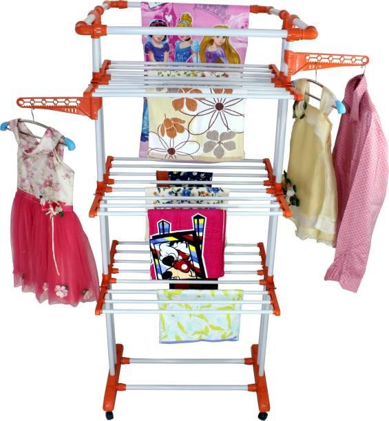 Branco Steel Floor Cloth Dryer Stand king