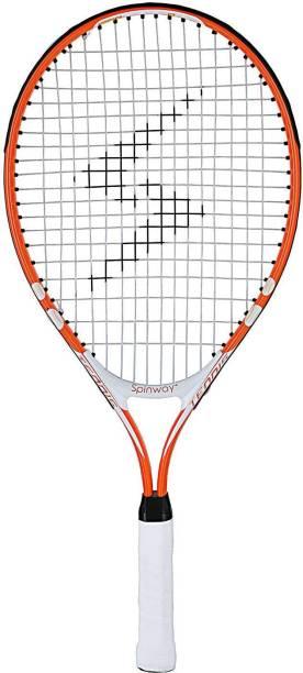 Spinway Mini tennis thunder Lightweight With cover bag Orange Strung Tennis Racquet