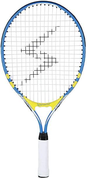 Spinway Mini tennis lightening With cover bag Blue Strung Tennis Racquet