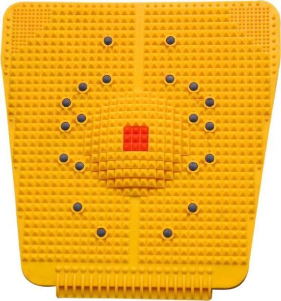 MANOGYAM Powermat 2000 Accupressure Magnet Pyramids Yellow 5 mm Accupressure Mat