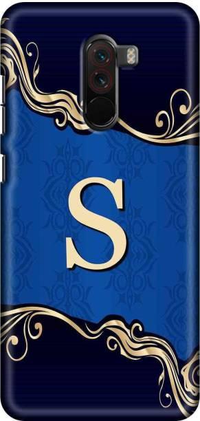 SWAGMYCASE Back Cover for POCO F1
