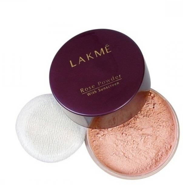 Lakme Rose Face Powder with Sun Screen Compact
