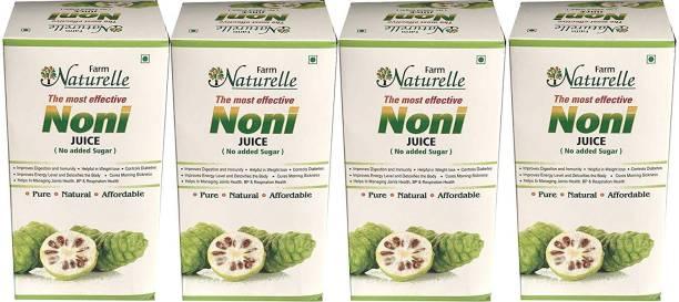 Farm Naturelle -The Finest & Strongest Noni Juice Herbal (4 x 400ML)