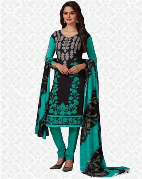 86b9be19e1d OffersSpecial Price. Divastri Crepe Printed Salwar Suit Dupatta Material