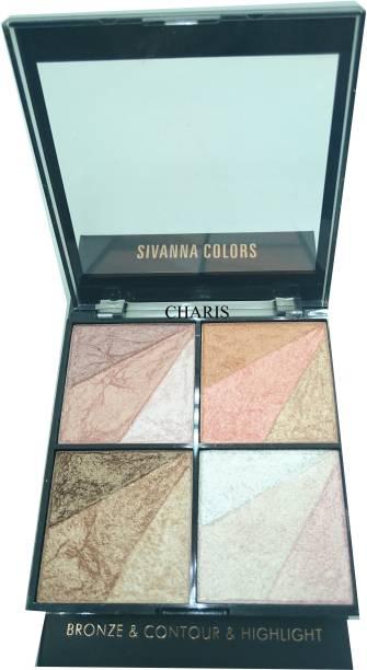Sivanna 15 Shade Super Highlighter-36204 Highlighter