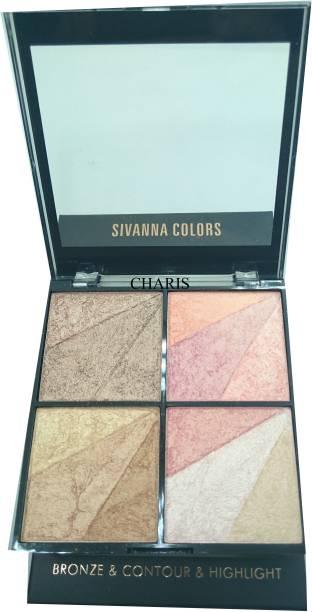 Sivanna 13 Shade Super Highlighter-36202 Highlighter
