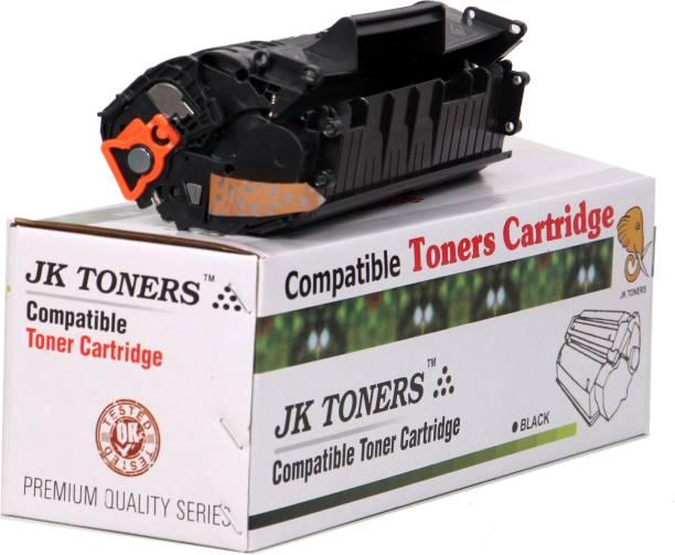JK Toners 12A/Q2612A For printer Use 1010, 1010w, 1012, 1015, 1018, 1020, 1022, 1022n, 1022nw, M1005 MFP, M1319f MFP, 3015 AIO, 3020, 3030, 3050, 3050z, 3052, 3055 (1 PC) Black Ink Toner