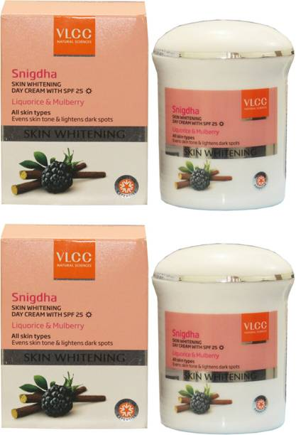 VLCC Natural Sciences Snigdha Day Cream With SPF 25 Liquorice & Mulberry (Pack of 2)