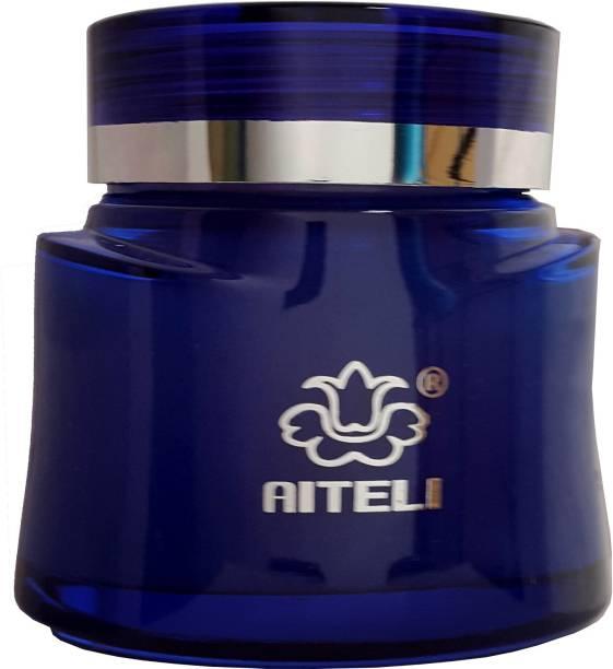 aiteli - EMPEROR - Oil based 'A' Grade Gel Car Air Freshener - Premium Car Perfume - Elegent Design - 120 Gms - Rich & Long Lasting Fragrance: FLORAL Fragrance Blue Diffuser, Gel