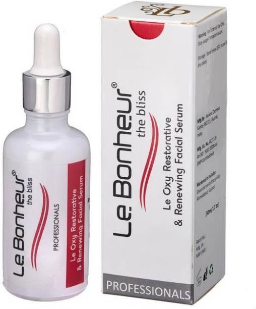Le Bonheur Oxy Restorative Serum & Renewing Facial Serum