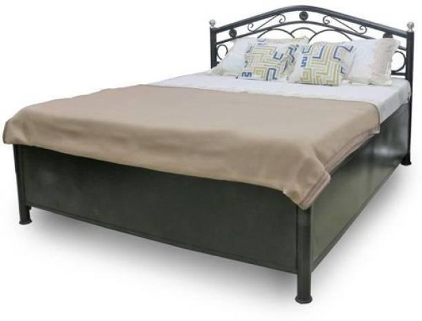 Royal Interiors Metal Single Hydraulic Bed