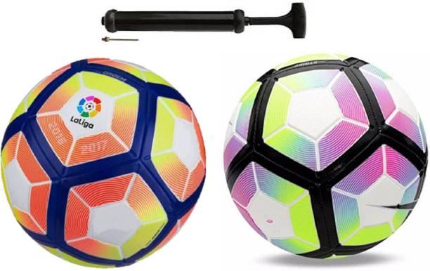 Unik New Lalinga + Lalinga Purple Football Combo With Durable Air Pump Football Kit