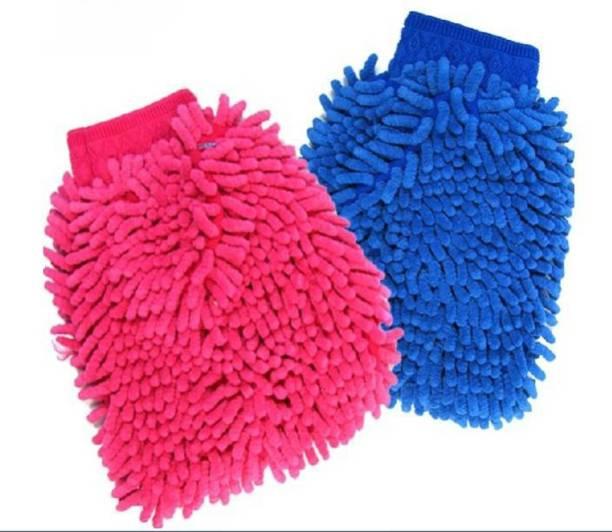 Zoby Microfiber Vehicle Washing  Hand Glove