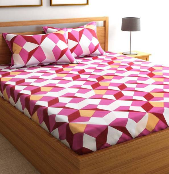 Geometric Bedsheets Buy Geometric Bedsheets Online At Best Prices - Geometrical-shapes-on-bedding
