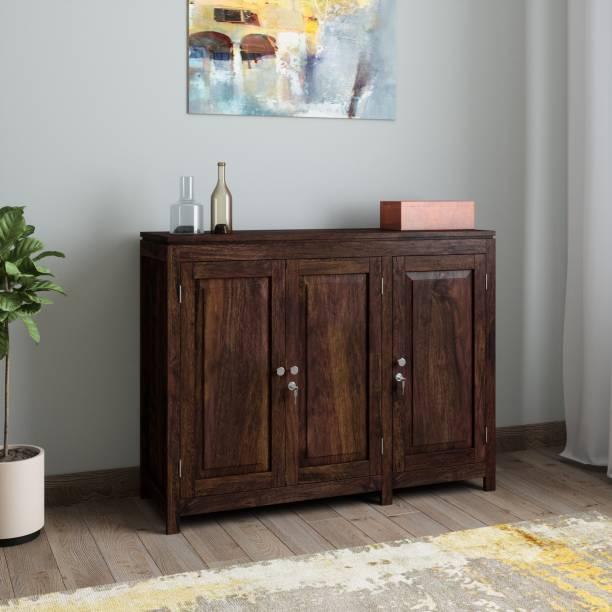 TimberTaste Sheesham Wood Solid Wood Free Standing Sideboard