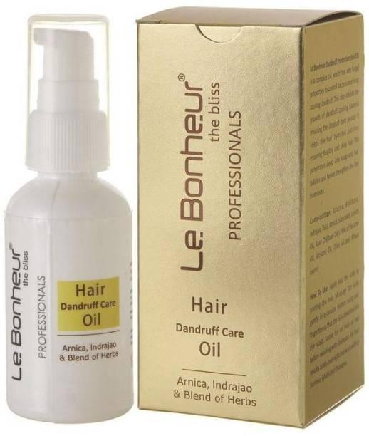 Le Bonheur Dandruff Hair Care Oil   Hair Oil   50ml Hair Oil