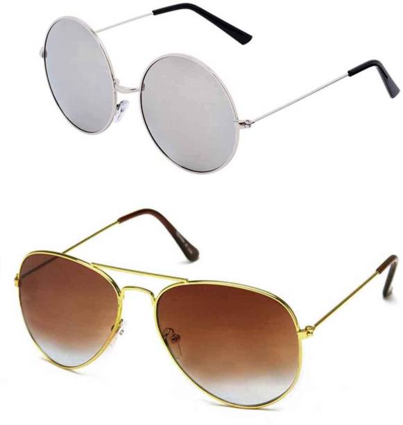 a827a4885 Round Sunglasses - Buy Round Sunglasses for Men & Women Online at ...