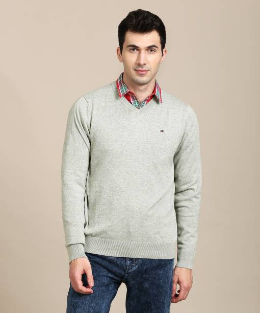 3048049b6cdb3d Tommy Hilfiger Sweaters - Buy Tommy Hilfiger Sweaters Online at Best ...