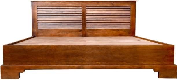 Balaji Wooden Osaka Mango Solid Wood King Bed
