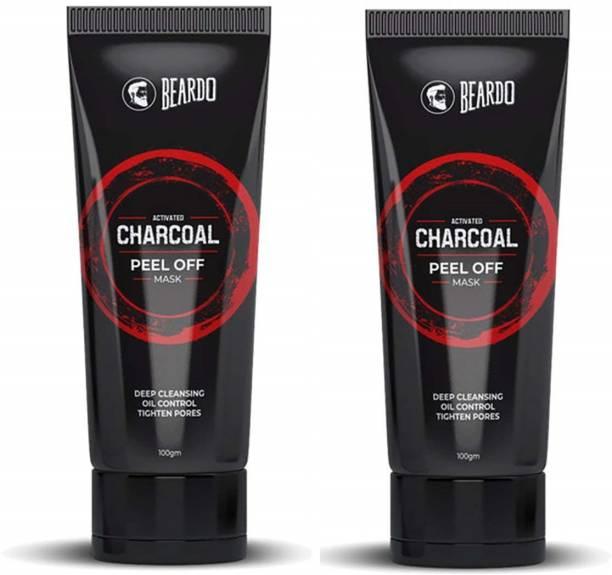 BEARDO Activated Charcoal Peel Off Mask