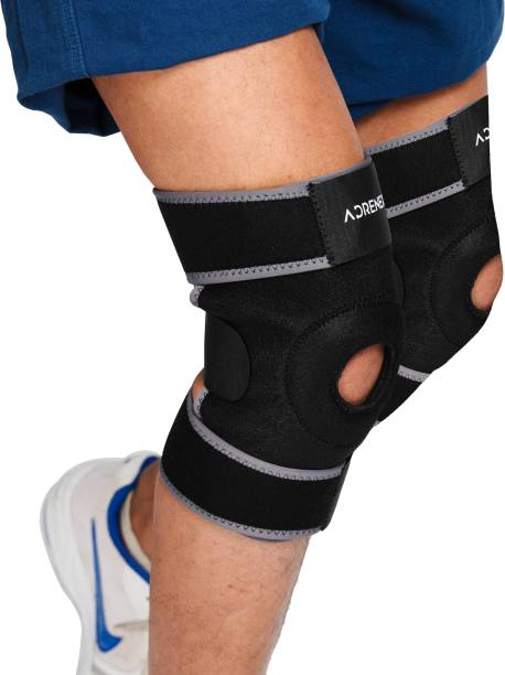 7dd0ee3f5b Adrenex by Flipkart Pack of 2, Neoprene Padded, Adjustable Knee Cap Support