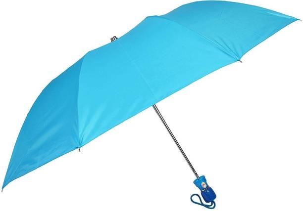 Fendo Yardley 2 Fold Sky Blue Umbrella Umbrella