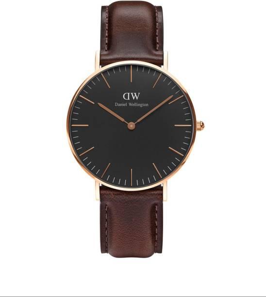 e7d2583bf5a5b Daniel Wellington DW00100137 Classic Black Bristol Watch - For Women