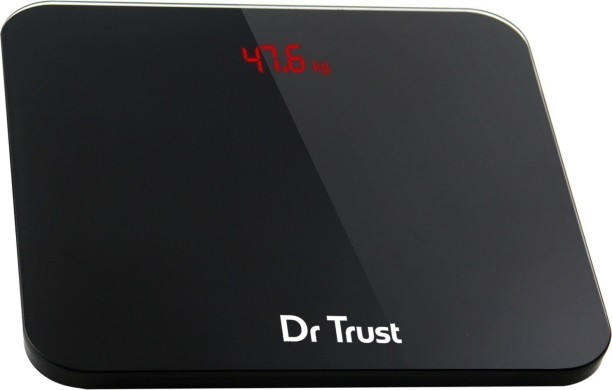 Dr. Trust (USA) Eco Zeus Rechargeable Digital Personal Weighing Scale  Electronic Weight Machine