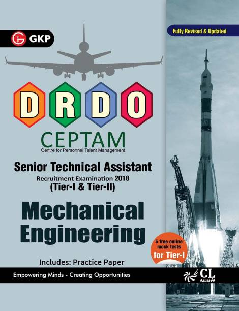 Drdo Ceptam Senior Technical Assistant Tier I & II - Mechanical Engineering with 0 Disc