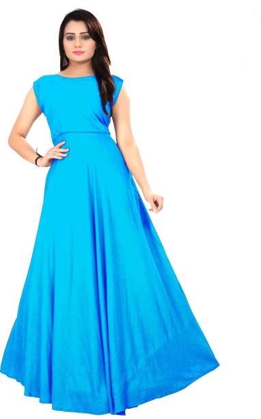 Silk Cotton Gowns Buy Silk Cotton Gowns Online At Best Prices In