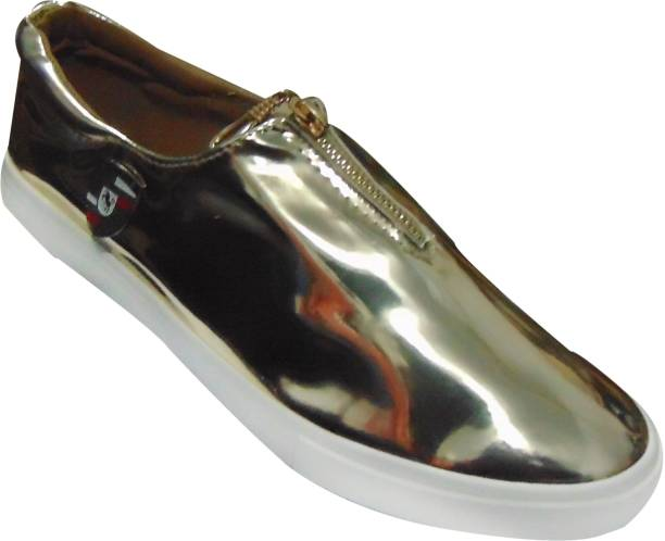 3a5ab7d24393 Silver Shoes - Buy Silver Shoes online at Best Prices in India ...