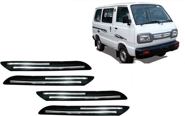 AUTO PEARL Plastic, Silver Plated Car Bumper Guard