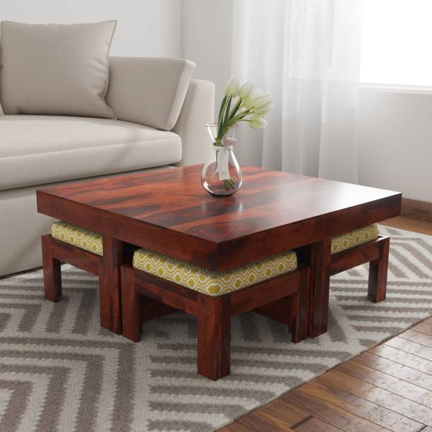 Induscraft Sheesham Wood Solid Wood Coffee Table