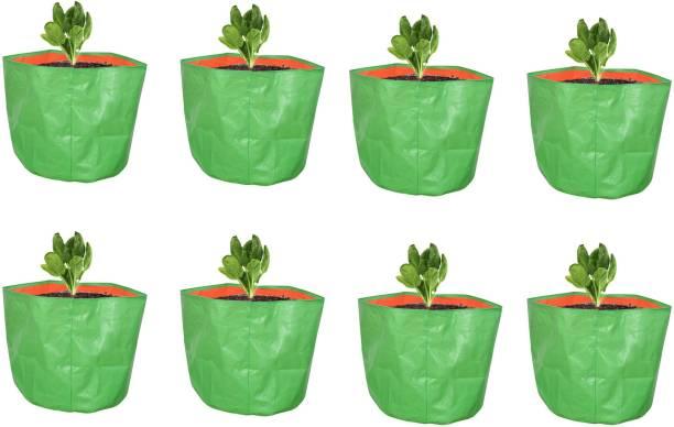 """Coirgarden Terrace Gardening HDPE Grow Bag (9"""" x 9"""" inches) (22x22x22cm) Grow Bag"""