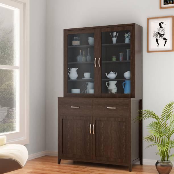 @home by Nilkamal FIHTBENDNHTCOFEE Engineered Wood Kitchen Cabinet