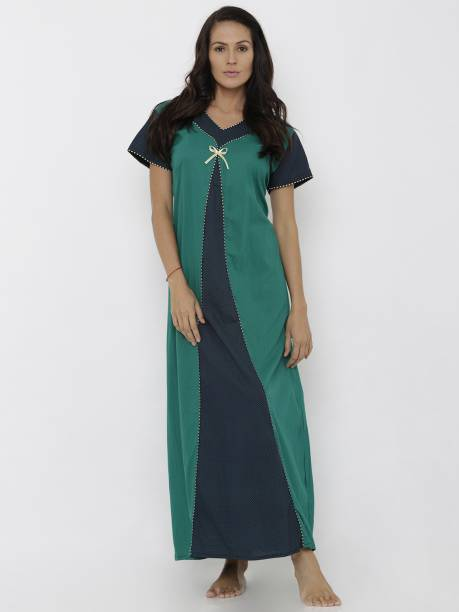 Green Night Dresses Nighties - Buy Green Night Dresses Nighties ... 58021e470