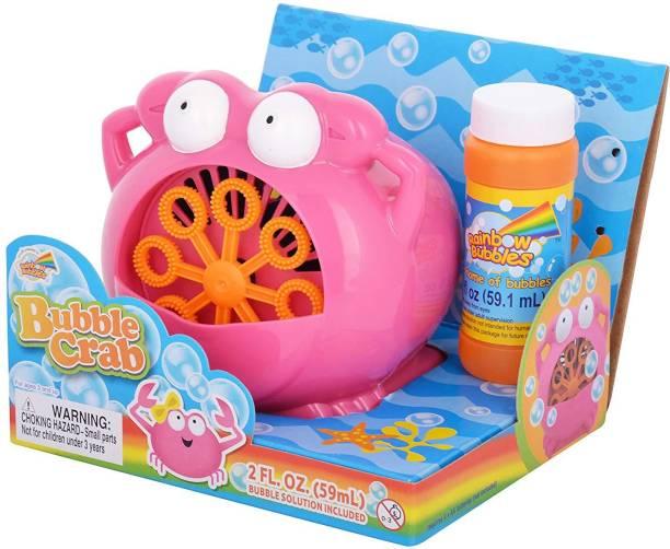 Rainbow Bubbles Bubble Crab with Fuel Toy Bubble Maker