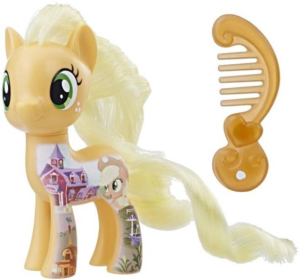 c8c20aa5414 My Little Pony My Little Pony the Movie all about Applejack Doll - 12.7 cm