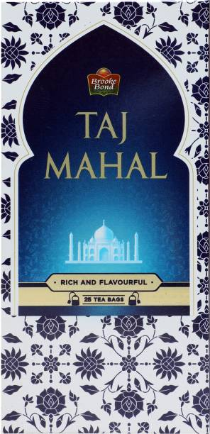 Taj Mahal Rich and Flavourful Tea Bags Box