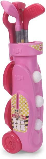 My Baby Excel Barbie - Golf Set w/trolley Eflute Golf Set