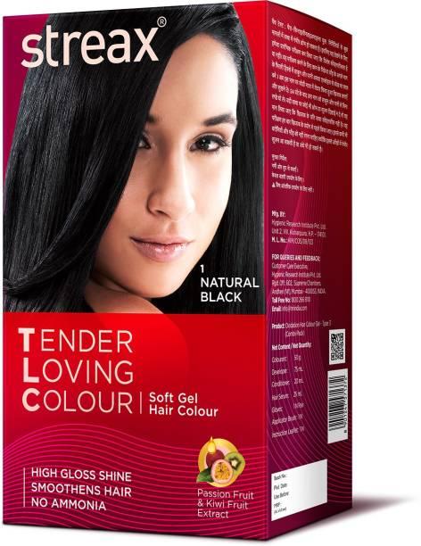 Streax Tender Loving Soft Gel Hair Colour , 1