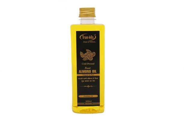 True Oils Sweet Almond Oil (500 ml) Hair Oil