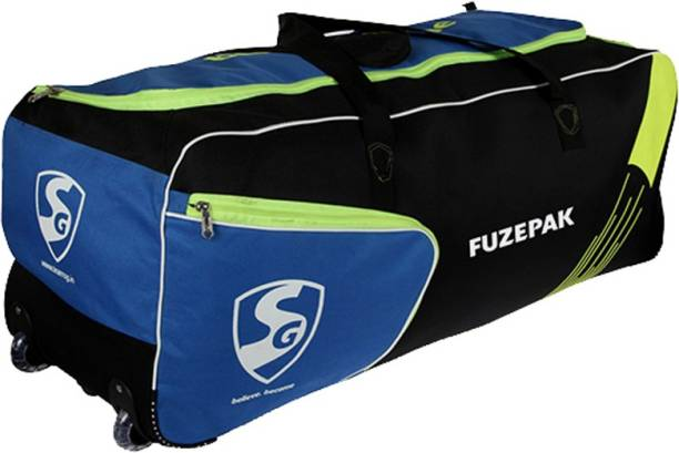 Sg Fuzepak Cricket Kit Bag With Wheels And Additional Shoe Compartment Kitbag