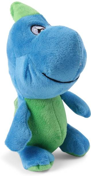 4e4116aa0c8a My Baby Excels Baby Dinosaur Plush Blue   Green Colour 19 cm ...